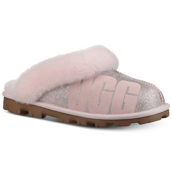 50202962d92 UGG Coquette Sparkle Slippers Glitter NWT